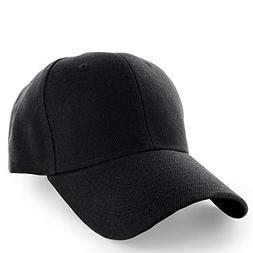 KANGORA Plain Baseball Cap Adjustable Men Women Unisex | Cla