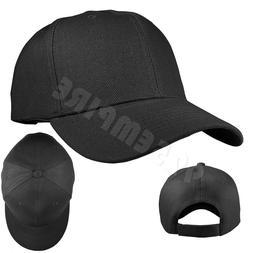 Plain Solid Color Adjustable Baseball Cap Hats For Men Women