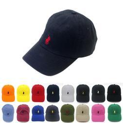 Polo RL Unisex Embroidered Pony Baseball Cap Classic Adjusta
