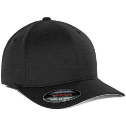 Flexfit Precurved Hat  Men's Blank Stretch Cap