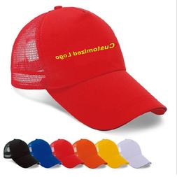 printing caps custom logo mesh travel advertising caps Cotto