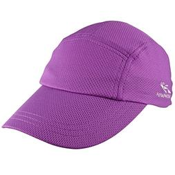 Headsweats Performance Race/Running/Outdoor Sports Hat, Purp