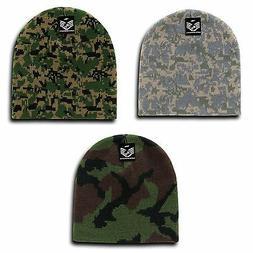 RapDom Military Camouflage Beanies Knit Watch GI Jacquard Wa