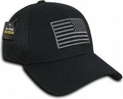 RapDom USA Embroidered Air Mesh Flex Mens Cap