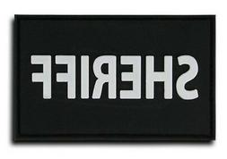 "Rapid Dominance Rubber Sheriff Patch 3""x2"" for T75/T79 Hat C"