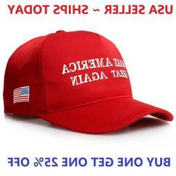 Red MAGA Make America Great Again President Donald Trump Hat