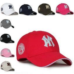 Red NY New York Yankees Hats Caps Mens Womens Baseball Caps