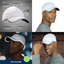 Reflective Running Cap A Quick Dry Hat For Men The Flashback