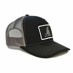 WEBY Richardson Sports Hats Black/Charcoal trucker hat w/ Do