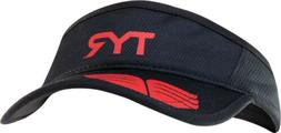 TYR Running Visor Black One Size Fits All Run Gear Hat Black