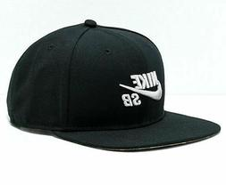 Nike SB Icon Snapback Hat Adjustable Black Light Bone Camo 6
