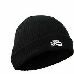 Nike SB Unisex Fisherman Beanie Skateboarding Black 628684-0