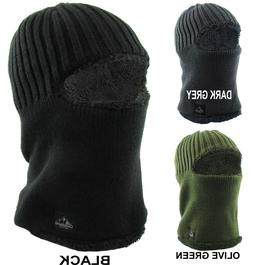 KBETHOS Sherpa Fleece Lined Face Mask Warm Winter Hat Balacl