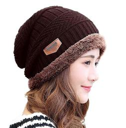 HINDAWI Slouchy Beanie Gloves for Women Winter Hat Knit Warm