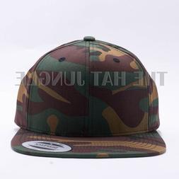 Yupoong Snapback Hat Plain 6089M Premium Classic Flexfit Bas