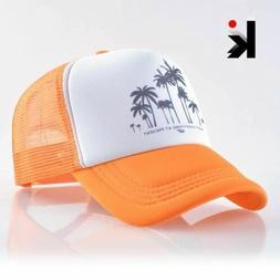 Snapback Mesh Baseball Cap Sport Hats For Men Caps Boys Snap