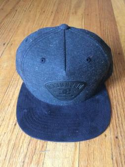 DC Shoes, Spacecoat Snapback Hat, NEW, Black Street Hip Fash