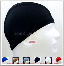 Spandex Dome Cap Helmet Liner Sports FootBall Biker Beanie H