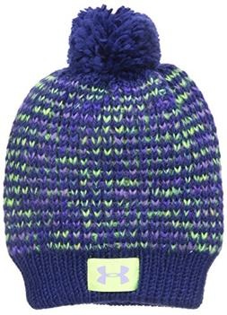 Under Armour Little Girls' Speckle Beanie, European Purple,