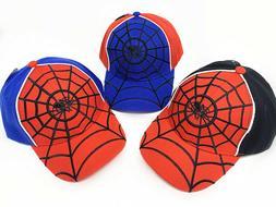 Spider Kids Boys Girls Baseball Cap Adjustable Snapback Outd