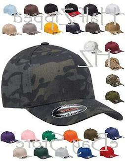 Flexfit Structured Twill Fitted Cap Baseball Hat 6277 S/M L/