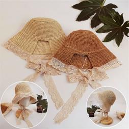 Summer Fisherman's Hat Beach Sunshade Baby Girl Women Lady F