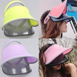 Sun Hats For Women Wide Brim Visor Beach Hat UV Protection C