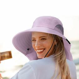 Sun Hat for Women UV Protection Wide Brim Beach Fishing Hat