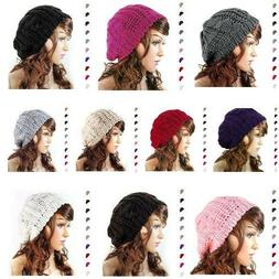 Tan Slouch Beanie Hats For Women Girls Knit Hats Brim Sale