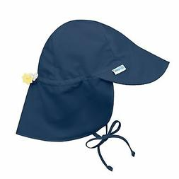 Toddler Baby Outdoor Flap Sun Protection Swim Hat Navy 9-18M