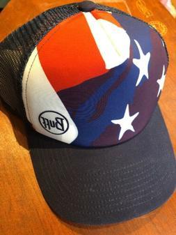 Buff Trucker Cap America New