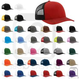 Richardson Trucker Hat Ball Cap Mesh on Back Hat Snapback Ca