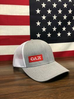 Trump KAG Keep America Great Richardson 112 Trucker Hat Heat