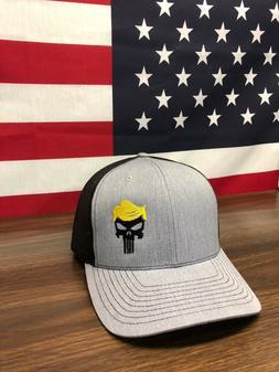 Trump Punisher Hat Make America Great Again Hat MAGA Richard