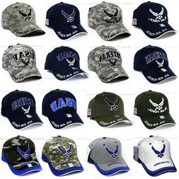 U.S. AIR FORCE Hat USAF Military Logo Embroidery Official Li