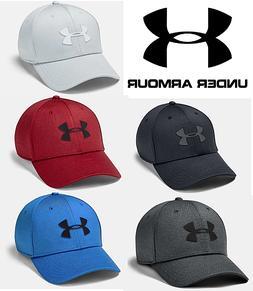 Under Armour UA Isochill Twist Stretch Fit Core Cap Hat - FR
