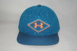 Under Armour UA True Ink Baseball Hat Flat Bill Snapback Cap