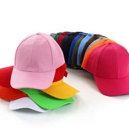 Unisex Men Women Solid Baseball Cap Adjustable Hip-Hop Hat P