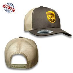 UPS Embroidered Mesh Snapback Yupoong Adjustable Trucker Bro
