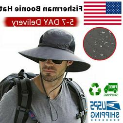 Fashman Boonie Hat Wide Brim Sun cap Outdoor Sunscreen Water