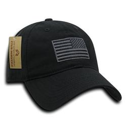 Rapid Dominance USA American Flag Hat Embroidered and Adjust