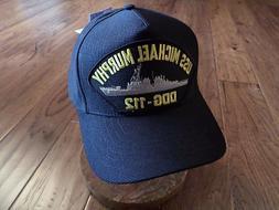 USS MICHAEL MURPHY DDG-112 NAVY SHIP HAT U.S MILITARY OFFICI