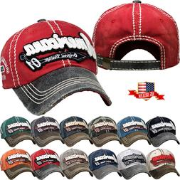 Vintage Distressed Hat Baseball Cap - Americana 01 - KBETHOS