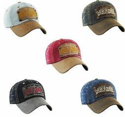 Kbethos Vintage Distressed Hat Baseball Cap - Rock N Roll -