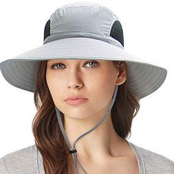 Waterproof Sun Hat Outdoor UV Protection Bucket Mesh Boonie
