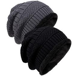 Loritta Winter Hat Warm Knitted Wool Thick Baggy Slouchy Bea