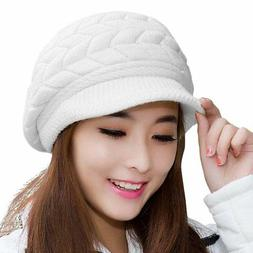HINDAWI Winter Hats for Women Girls Warm Wool Knit Snow Ski