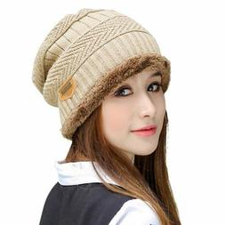 HINDAWI Winter Hats for Women Slouchy Beanie Snow Ski Knit W