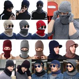 Winter Mens Women Warm Ski Beanie Cap Wool Knit Snow Hat Sku