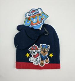 winter toddler little boys paw patrol hat